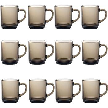 Duralex Versailles - Juego de Tazas para café o té - Ahumado - 260 ...