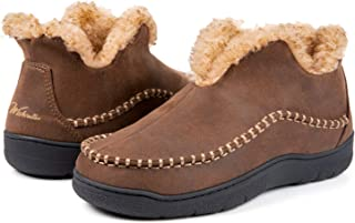 ankle high moccasins mens