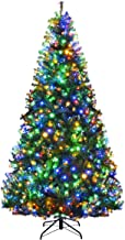 Best 8 foot pre lit artificial christmas trees Reviews