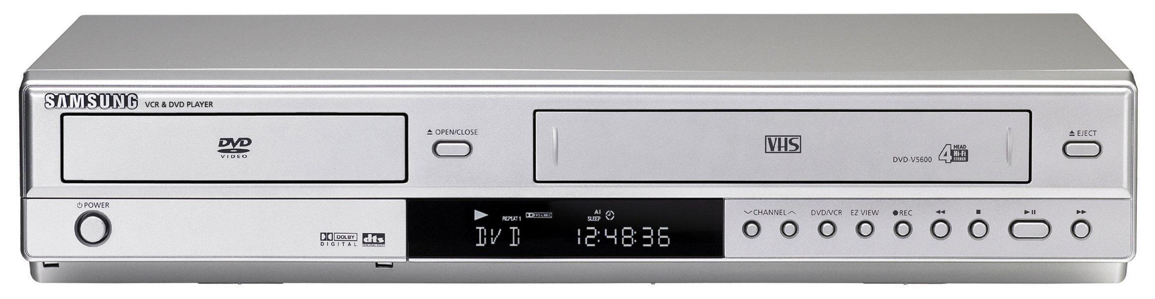 Samsung DVD V5650 DVD VCR Combo