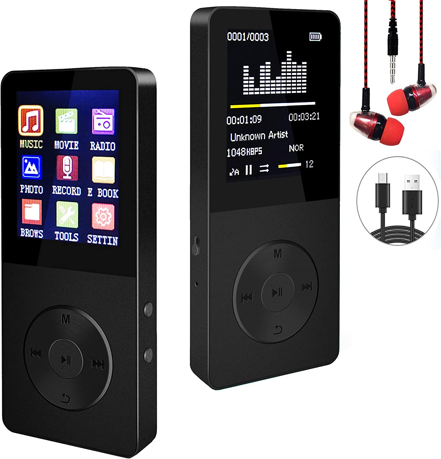 Mp3 Player Special price Hotechs Hi-Fi Sound Radio trust Recording with FM Functi