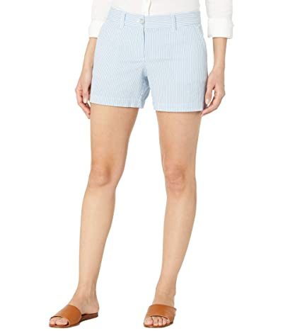 Southern Tide Caroline 5 Seersucker Shorts Women