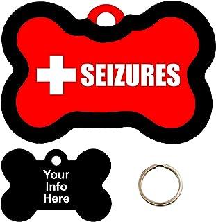 Customized Medical Alert SEIZURES Pet
