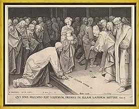 ملصق مطبوع على القماش مطبوع عليه Pieter Bruegel The Elder Giclee