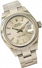 ロレックス ROLEX デイトジャスト 28 オイスターパーペチュアル 腕時計 AT オートマ 自動巻 シルバー文字盤 レディース 279160 中古