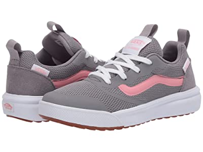 Vans Kids UltraRange Rapidweld (Little Kid) ((Pop) Frost Gray/Pink Icing) Girls Shoes