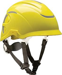 MSA 10186480 Nexus Linesman Non-Vented Climbing Helmet, Yellow