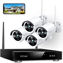 Wireless Security Camera System, Victure 1080P 8 Channel...