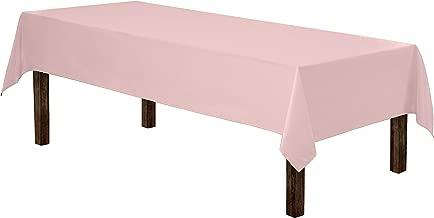 Best light pink rectangle tablecloth Reviews