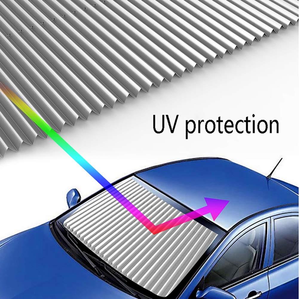 Cortinas para Bloquear los Rayos UV y el Calor Beige Riloer Parasol para Ventana de Coche Parasol para Ventanas Laterales