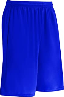 CHAMPRO Clutch Z-Cloth Dri-Gear Short; Women's, Royal, Small