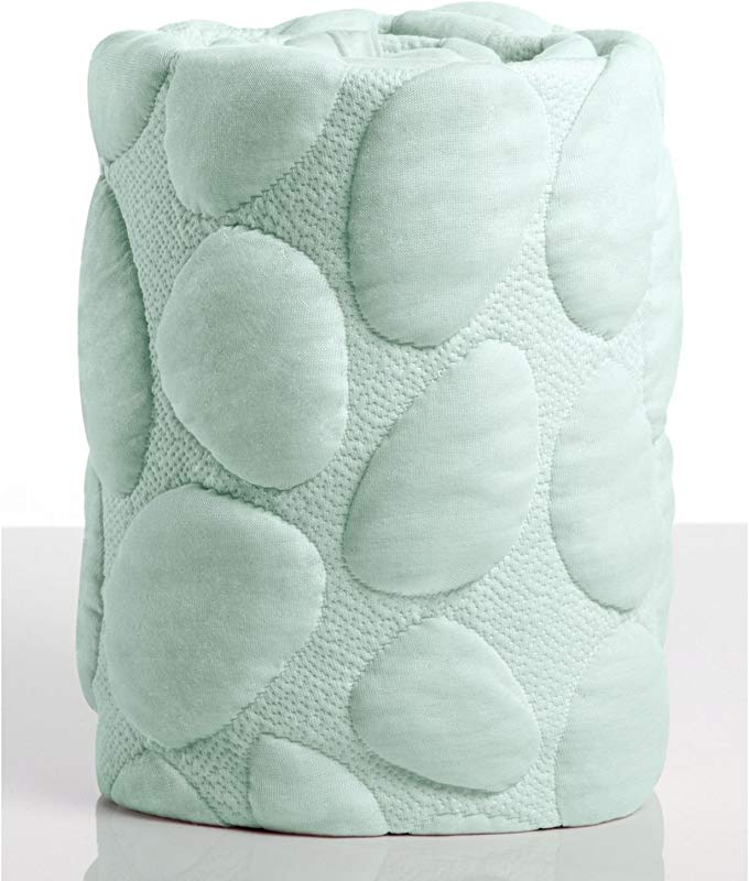 Nook Sleep Systems Pebble Air Crib Removable Mattress Wrap Cover 100 Organic Soft And Breathable Sea Glass