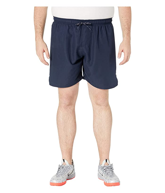 Nike Big Tall 7 Solid Vital Volley Shorts (Obsidian) Men