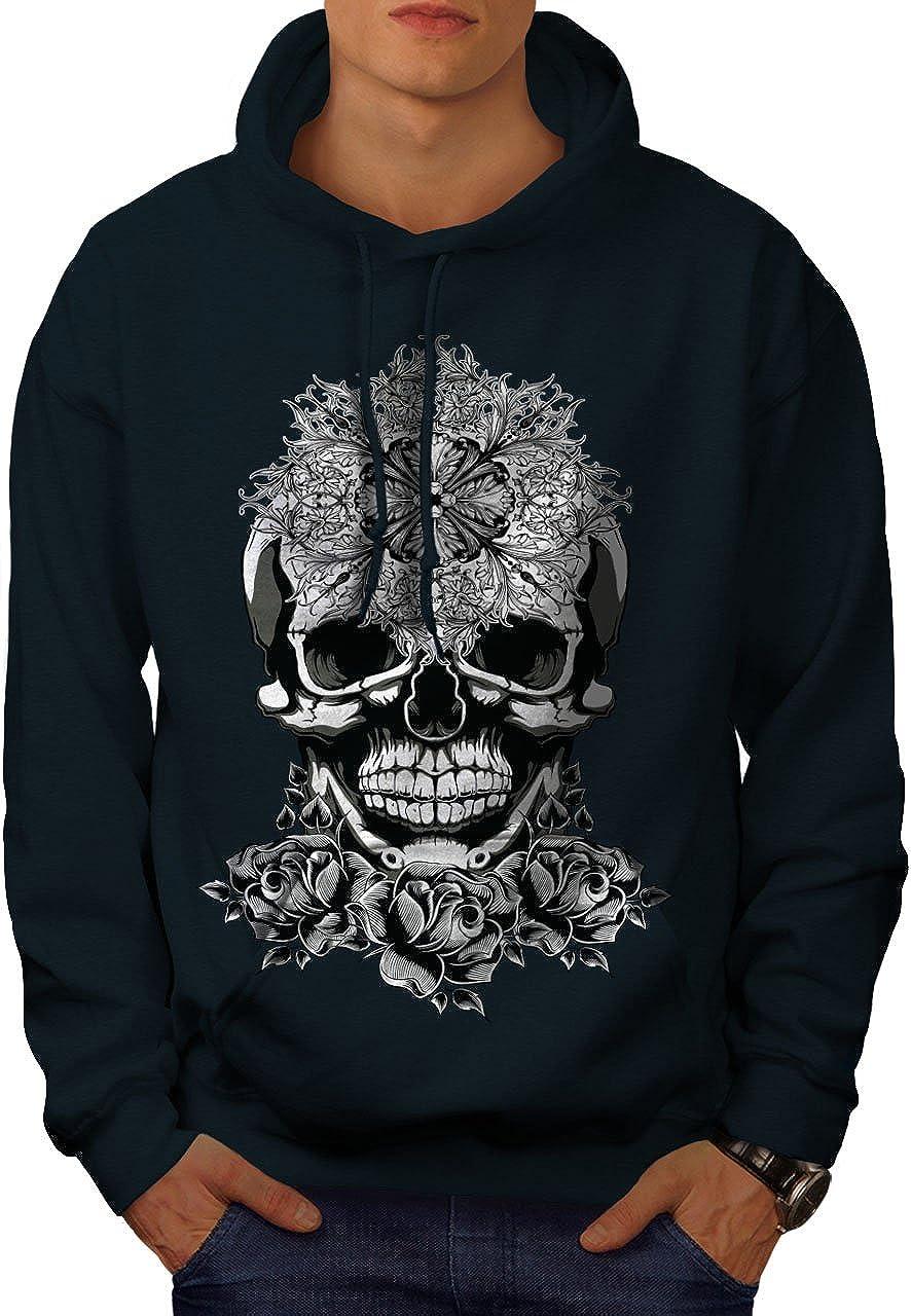 wellcoda Evil Satan Head Skull Sweats 大特価 新作製品、世界最高品質人気! Hooded Hoodie Burial Mens