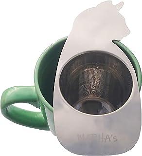 Infusor de té reutilizable para hojas sueltas, lo mejor para tazas de té y ollas, apto para lavavajillas, colador de acero...