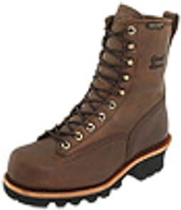 "8"" Bay Apache Insulated Waterproof Steel Toe Logger"