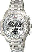 Mens Watch Citizen BL5400-52A Eco-Drive Perpetual Calendar Alarm Chronograph Wh