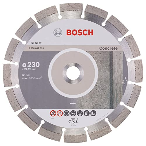 Leman 771154 Disque diamant /à segments pour b/éton arm/é 115 x 22,23 mm Hauteur 7 mm