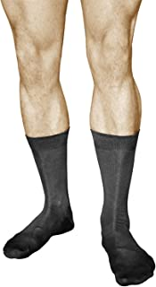 Calcetines Business Algodón Lisos Hombre (3 PARES) Duraderos Media Caña