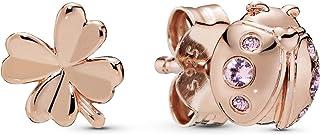 comprar comparacion Pandora Pendientes de botón Mujer vermeil - 287960NPO