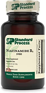 Standard Process Niacinamide B6 - Whole Food Energy, Metabolism and Nervous System Supplements with Soy Protein, Vitamin B...