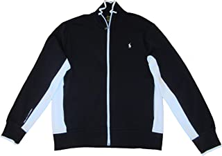 Polo Mens Cotton Full Zip Track Jacket