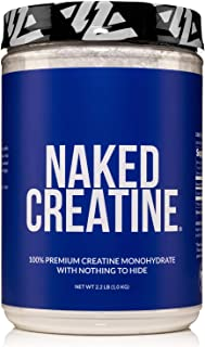 Pure Creatine Monohydrate – 200 Servings - 1,000 Grams, 2.2lb Bulk, Vegan, Non-GMO, Gluten Free, Soy Free. Aid Strength Ga...