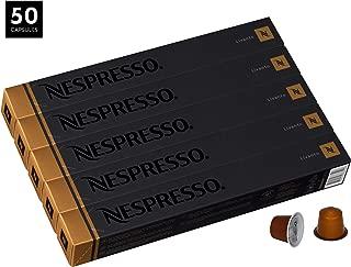 Livanto OriginalLine Capsules, 50 Count Espresso Pods, Medium Roast Intensity 6 Blend, Costa Rican & Colombian Arabica Coffee Flavors