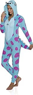 Monsters Inc. Women's Sulley Cos Play One Piece Pajama Union Suit