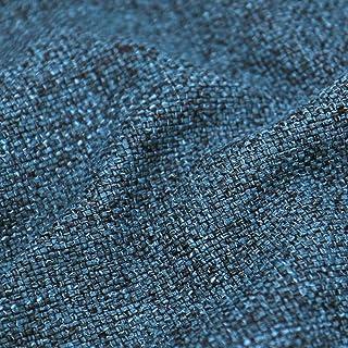 Rasatello di cotone a quadretti blu azzurri TESSUTO AL METRO STOFFA A METRAGGIO
