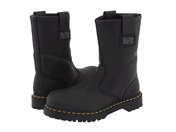 Dr. Martens Work  2295 Rigger (Black Ind. Greasy) Work Pull-on Boots
