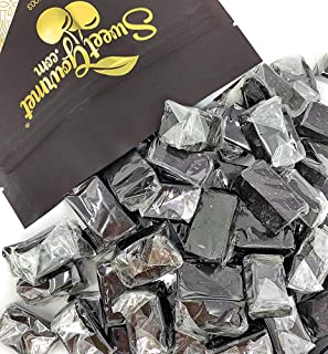 SweetGourmet Dutch Soft Wrapped Licorice Caramels | 2 Pounds