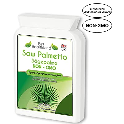 Reduce Frequent Urination! Non-GMO Saw Palmetto...