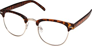 Mens Non Prescription Clear Lens Glasses