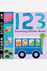 123 Counting Sticker Book Paperback