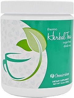 Omnitrition Thermo Herbal Tea Sugar Free Drink Mix, 10.6 oz Bottle
