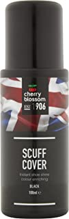 Cherry Blossom Scuff Cover Shoe Polish/Black/ 3.38 Oz/Made in England