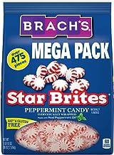 Brach's Star Brites Peppermint Starlight Mints Hard Candy, 5 Pound Bulk Candy Bag Individually Wrapped Bulk...