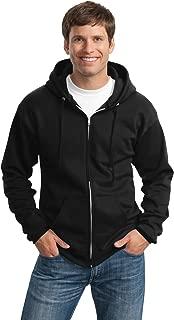 Port & Company Tall Essential Fleece Full-Zip Hooded Sweatshirt. PC90ZHT
