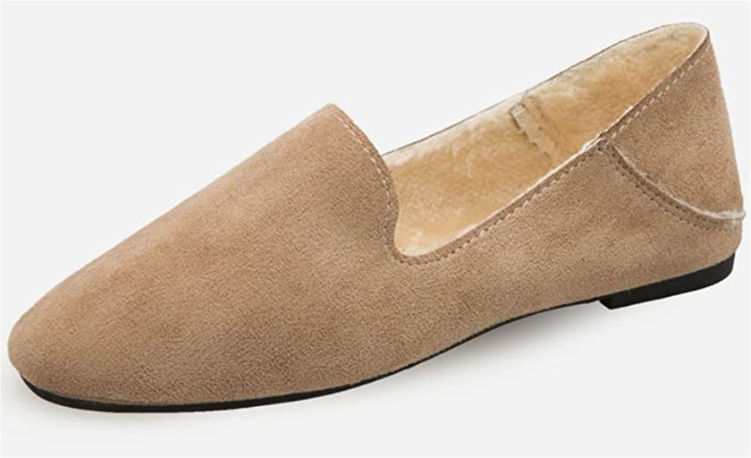 走る民兵病気[Infabe] モカシン レディース ファー付き リボン ミュール シューズ 靴 歩きやすい 美脚 かわいい フラット ふわふわ おしゃれ 軽量 女性 通勤 靴 秋冬
