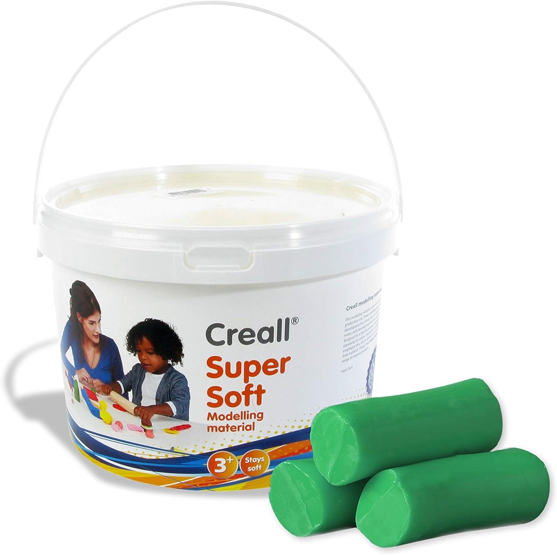 Creall Havo25012 1750 g Green Havo Super Soft Modelling Material Set
