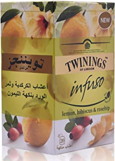 Twinings Lemon Hibiscus Rosehip - 20s