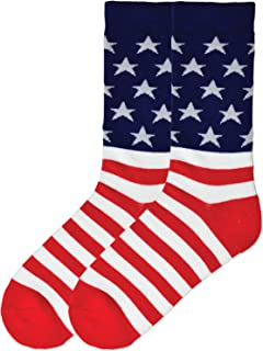 Men's Celebrating Americana Crew Socks-Made in USA