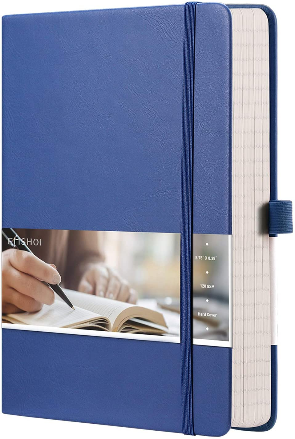 EMSHOI College Ruled Notebook - 256 Lined Jour Numbered Safety and trust Pages A5 Indianapolis Mall