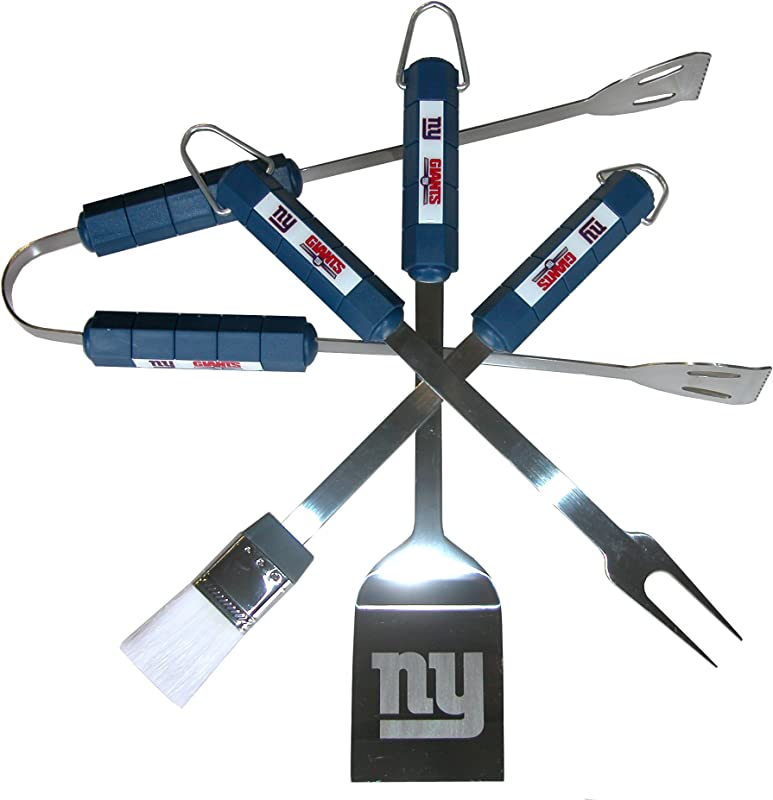 NFL New York Giants 4 Piece Barbecue Set