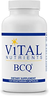 Vital Nutrients - BCQ (Bromelain, Curcumin and Quercetin) - Herbal Support for Joint, Sinus and Digestive Health - 120 Capsules per Bottle