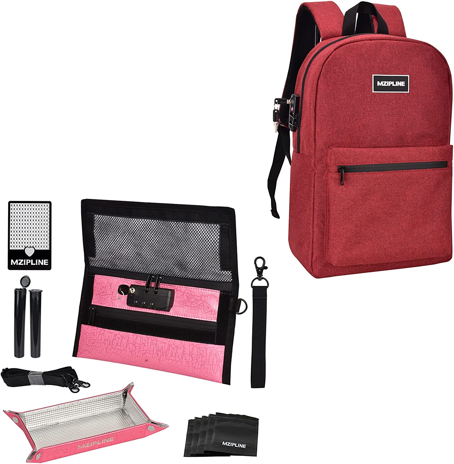 Lock Smell Proof Backpack Bag Kits ! Super beauty product restock quality top! Small Easy-to-use Bundle