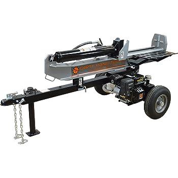 Frictionless World Dirty Hand Tools 100950 Horizontal/Vertical Log Splitter 22 Ton Full-Beam Loncin Engine