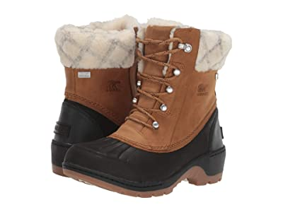SOREL Whistlertm Mid (Camel Brown/Black 2) Women