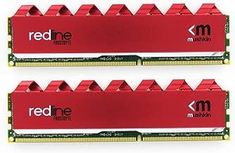Mushkin Redline Series – DDR4 DRAM – 32GB (2x16GB) Memory Kit DIMM – 3000MHz (PC4-24000) CL-18 – 288-pin 1.35V Desktop RAM – Non-ECC – Dual-Channel – FrostByte G3 Red Heatsink – (MRA4U300JJJM16GX2)
